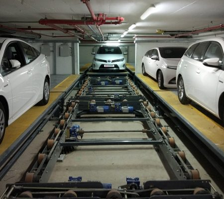 Conveyor Autonomous Parking Solutions Automated Parking Garages