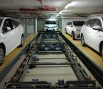 3 Cars in Conveyor automated parking solution
