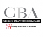 WEHO 2016 Creative Business Awards Logo
