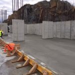 Construction of automated parking garage at Cliffside Park, NJ Three
