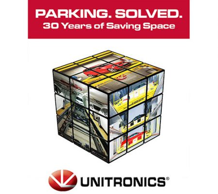 Ad 2 for Unitronics Launches New Website Automated Parking Solutions Campaign