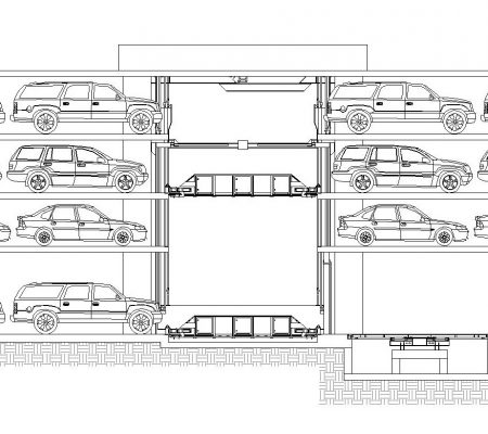 Automated parking design considerations part 1 unitronics parking automated parking system blueprint malvernweather Gallery