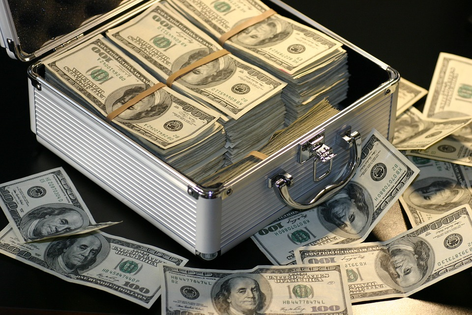 brief case of money