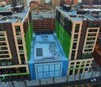 Image of space saved at Park & Garden automated parking garage Hoboken NJ