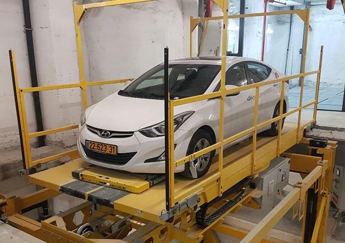 Unitronics Crane Automated Parking Solution